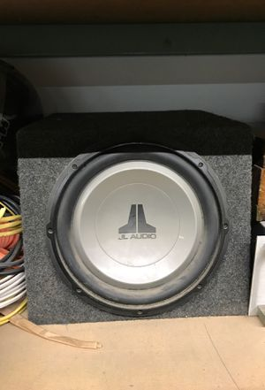 "12"" JL audio Sub woofer for Sale in Battle Ground, WA"
