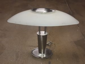 Industrial deco modern touch lamp for Sale in Long Beach, CA