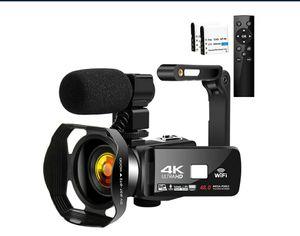 Camcorder 4K HD 48MP Video Camera 18X Digital Zoom IR Night Vision NEW ½ PRICE for Sale in Virginia Beach, VA