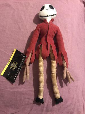 Nightmare Before Christmas Jack Skellington Plush Doll for Sale in Detroit, MI