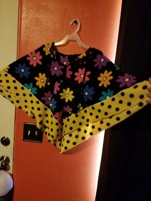 Cute girls flower pancho for Sale in Colorado Springs, CO
