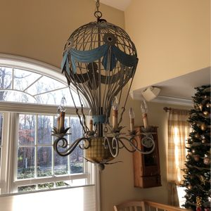 Hot air balloon chandelier for Sale in New Canaan, CT