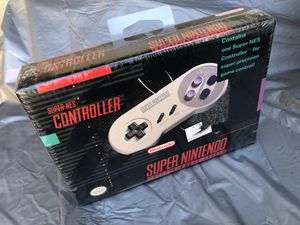 Brand new Factory Sealed Super Nintendo controller in box snes for Sale in El Monte, CA