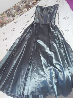 Silver/gray prom/formal dance dress for Sale in Victorville, CA