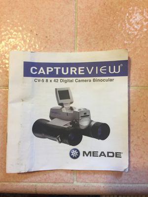 Meade cv 8x42 digital camera binoculars for Sale in Brawley, CA