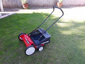 "Troy-Bilt e-dapt 18"" Cutting Width Reel Mower for Sale in Phoenix, AZ"