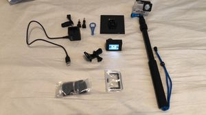 Go pro hero 4 with accessories for Sale in Saginaw, TX