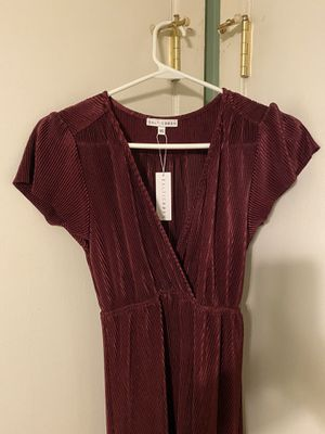 Athena Mulberry Pleated Maxi Dress, Baltic Born brand for Sale in Chattanooga, TN
