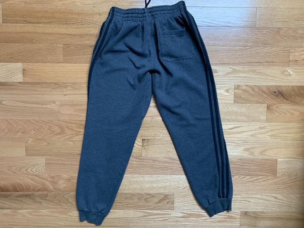 Adidas 3 Stripes Jogger Sweatpants Gray M