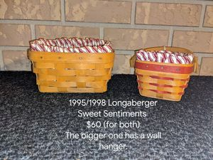 1995/1998 Longaberger Sweet Sentiments for Sale in Orange City, FL