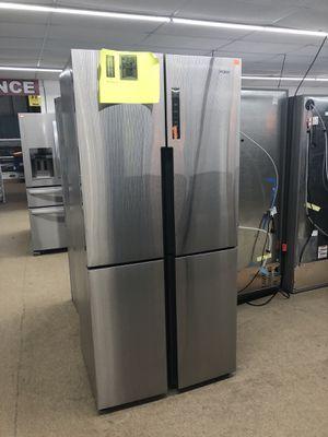 Haier 4 Door French Door Refrigerator Stainless steel on sale for Sale in Norcross, GA