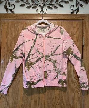 RealTree Pink Camo jacket hoodie for Sale in Festus, MO