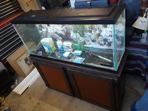Fish aquarium with stand for Sale in Antelope, CA