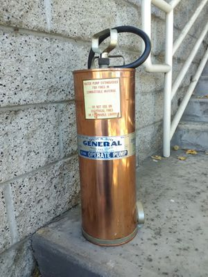 Vintage Fire Extinguisher for Sale in Rancho Cucamonga, CA
