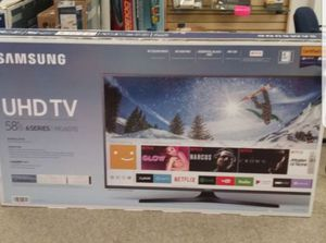 "Samsung UN58MU6070 58"" 4K UHD HDR LED Smart TV 2160p *FREE DELIVERY* for Sale in Tacoma, WA"