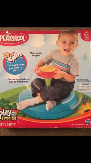 Sit and spin seat toy for Sale in Davie, FL