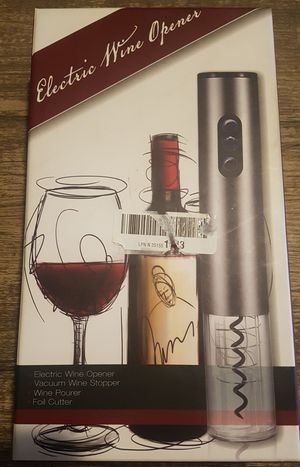 Electric wine opener for Sale in Buckhannon, WV