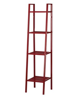 Red Metal Shelving Unit, perfect condition! for Sale in Washington, DC