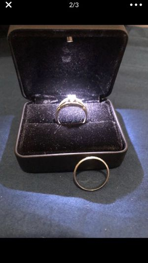 White gold rings taking best offer for Sale in Long Beach, CA