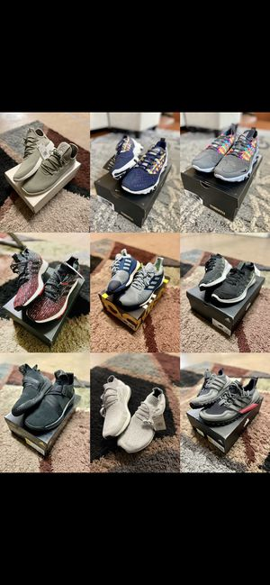 Adidas Originals Ultraboosts, Solarboosts, Pureboosts, Purebounce, Pharrell, Harden, and Nike React Sertu - Sizes 11, 11.5, 12 for Sale in Union City, CA
