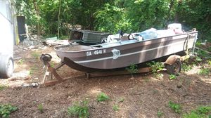 Ga OUACHITA boat with trailer for Sale in Decatur, GA
