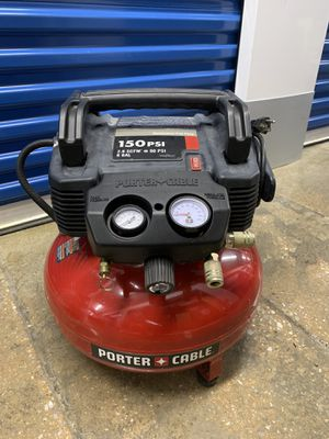 Porter Cable 150psi 6GAL Air Compressor for Sale in Bowie, MD
