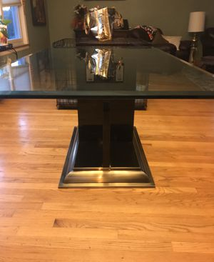 Glass dining table for Sale in Evanston, IL