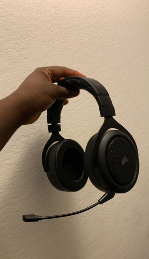 Luxury Corsair Wireless Gaming Headphones for Sale in Grand Prairie, TX