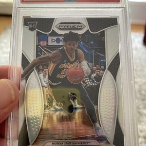 Ja Morant #2 Panini Prizm PSA 9 Mint Silver for Sale in Fairfax, VA
