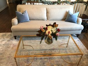 """Pottery Barn Carlyle 90"""" Bench sofa for Sale in Falls Church, VA"""