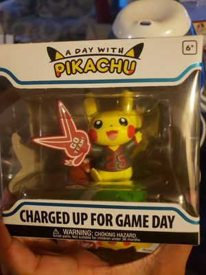 BNIB Funko Charged up for game day Pikachu Pokemon WSU colors for Sale in Renton, WA