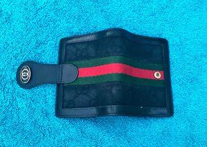 🌷Authentic Vintage Gucci Bifold Web Wallet for Sale in Phoenix, AZ