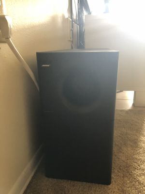 BOSE 5.1 woofer with Yamaha Amplifier for Sale in Pittsburgh, PA