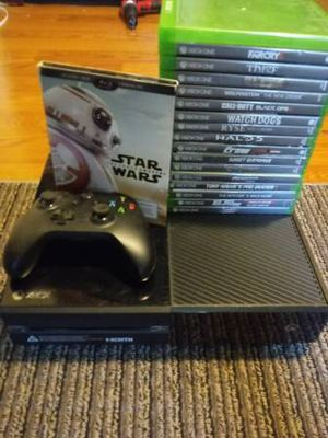 Xbox One w/ 16 Games for Sale in Frederick, MD