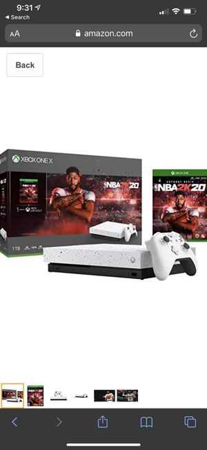 Xbox one x NBA edition for Sale in Palm Harbor, FL