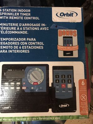 SPRINKLER SYSTEM TIMER WITH REMOTE CONTROL for Sale in Chula Vista, CA