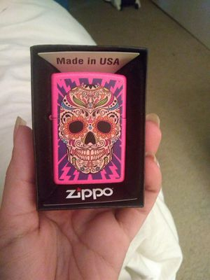 Cute pink zippo for Sale in Upland, CA