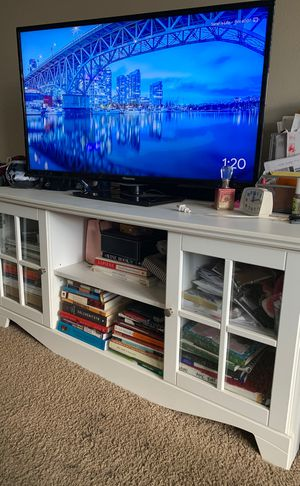 White TV Stand for Sale in Alexandria, VA