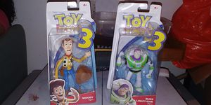 COLLECTABLE TOY STORY 3 DOLLS..7 INCH TALL NEW IN BOX.. $15 TAKES BOTH..WEST KENDALL LOCAL OR CAN SHIP. THANKS for Sale in Miami, FL
