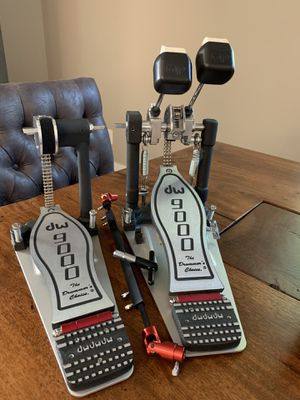 DW 9000 Double Bass Pedal for Sale for sale  Denver, CO
