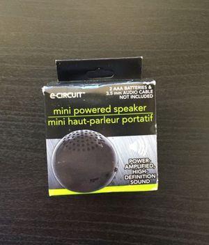 Mini battery powered speaker for Sale in Portland, OR