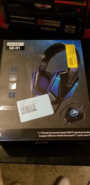 Glow H1-GX surround Sound PC headset!! for Sale in Elmwood Park, IL