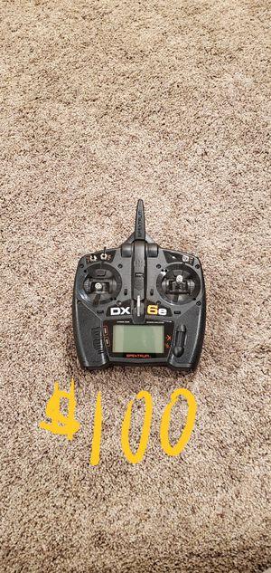 6 ch Spektrum radio dx6e for Sale in Gig Harbor, WA