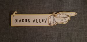 Diagon Alley/Knockturn Alley Bookmark for Sale in Lake Forest, CA