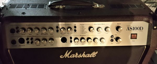 Marshall AS100D Amp & Accessories Never Used