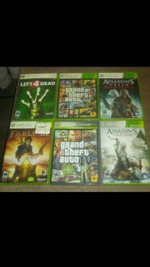 Xbox 360 Games ($5.00Each) for Sale in Rialto, CA