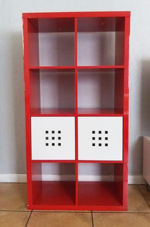 IKEA RED KALLAX SHELF SET (Large & Small) for Sale in Oakland Park, FL