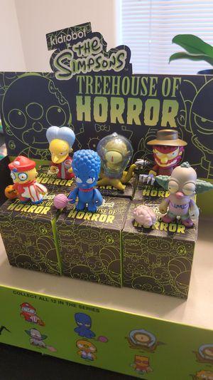 Kidrobot x The Simpsons Treehouse of Horror Vinyl Figures for Sale in Beaverton, OR