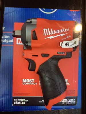 Milwaukee m12 1/2 Stubby Impact Wrench mod 2557-20. New ( tool only) FINAL PRICE THANKS for Sale in Downey, CA