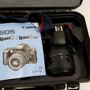 Canon EOS Rebel G Film Camera With Case  for Sale in Chandler, AZ